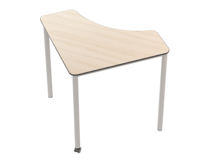 Flexus Table Curve Triangle - sand ash